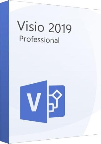 Microsoft Visio Professional 2019 1PC