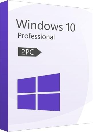 Windows 10 Pro (32/64 Bit) (2 PC)